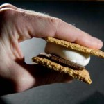 smore in hand